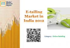 E-tailing Market in India 2012 Market Research Report