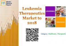 Leukemia Therapeutics Market to 2018 Market Research Report